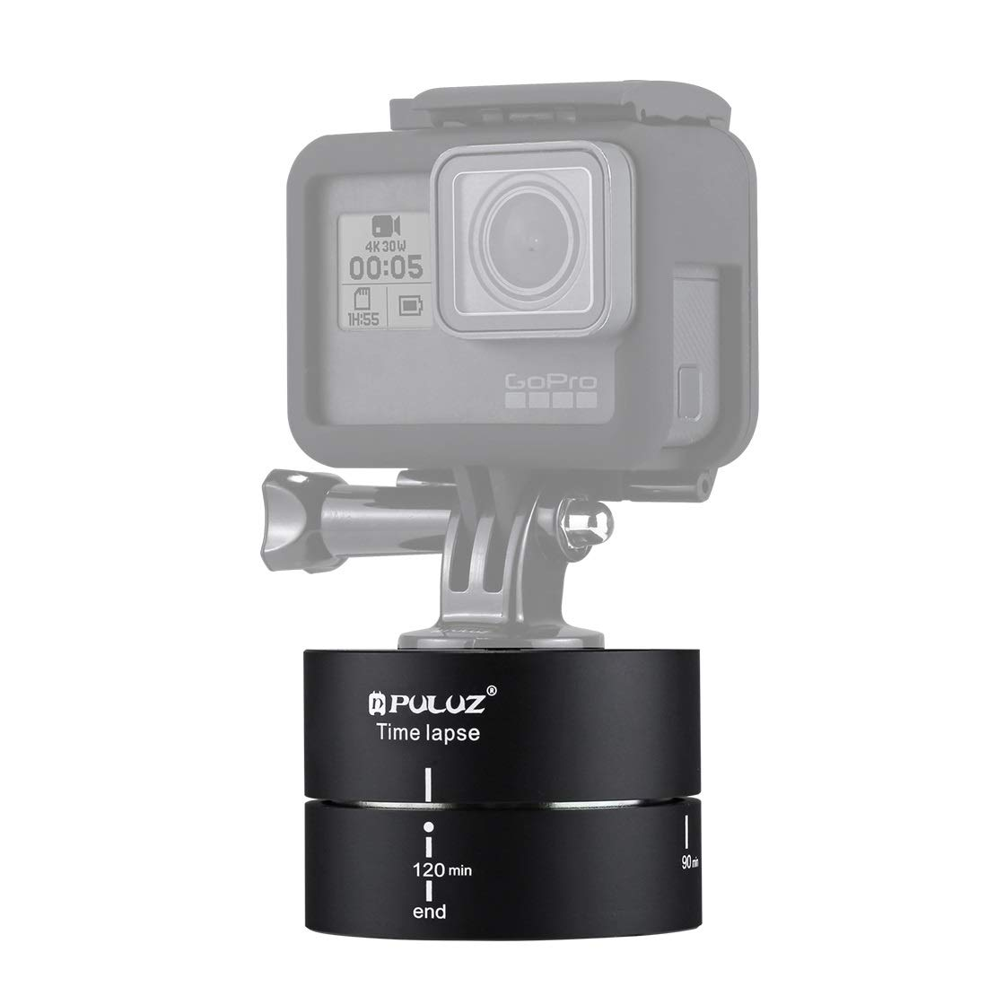 HEGUANGWEI Camera Mount 360 Degrees Panning Rotation 120 Minutes Time Lapse Stabilizer Tripod Head Adapter Photography by HEGUANGWEI
