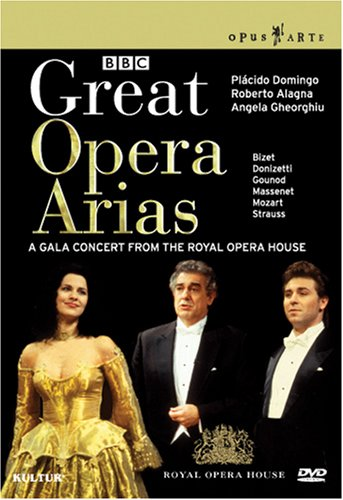Great Opera Arias - Concert With Domingo, Alagna, Gheorghiu / Royal Opera House by Kulter