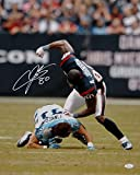 Andre Johnson Signed Houston Texans 16x20 Finnegan Fight Photo-JSA W Auth White