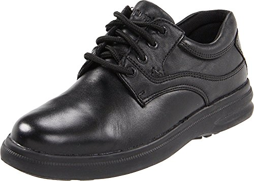 Hush Puppies Mens Glen Oxford, Black, 45.5 3E EU/10.5 3E UK