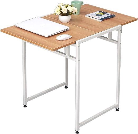 mesa plegable ZB Mesa De Comedor Moderna Y Minimalista para 2 ...
