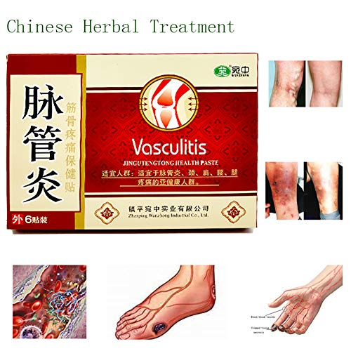 18PCS Varicose Veins Herbal Healing Patch Vasculitis Natural Solution Chinese Herbal Treatment Mai Guan Yan Acid Bilges Itching