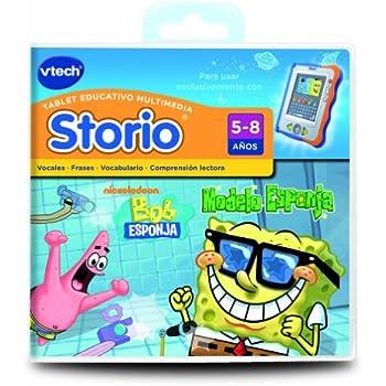 Vtech Spanish - Vtech Storio Juego Sponge Bob - En Español