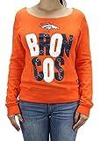 Team Apparel NFL Girl's Denver Broncos Long Sleeve Sweat Shirt