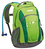 Camelbak Kid's Scout Hydration Pack (50-Ounce/670 Cubic-Inch, Jasmine Green), Outdoor Stuffs