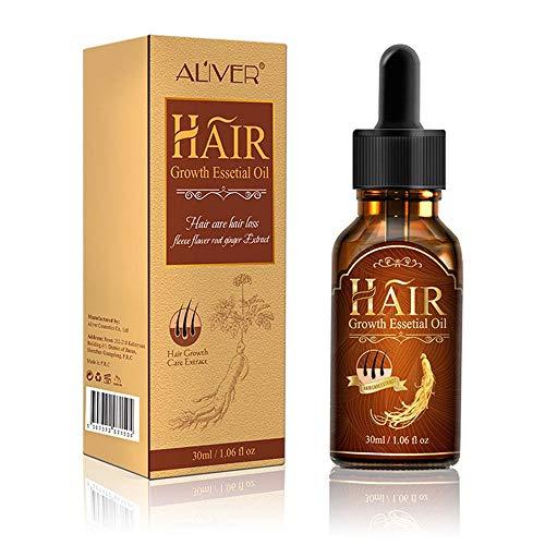 AOLVO Hair Growth Fluid, Hair Growth Supplement for Longer & Stronger, Relaxed Hair Growth, Hair Growth and Hair Loss ()