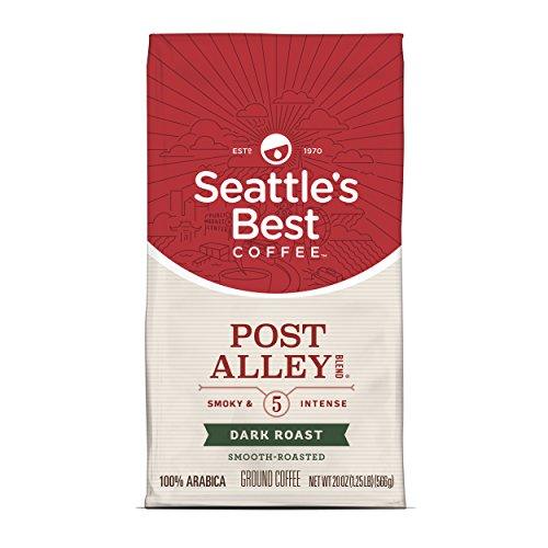 Seattles Best Blend Coffee (Seattle's Best Coffee Post Alley Blend (Previously Signature Blend No. 5) Dark Roast Ground Coffee, 20-Ounce Bag)