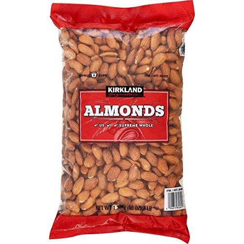 Kirkland Signature Nuts, Almonds, 48 Ounce