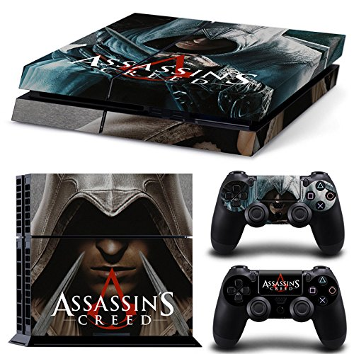 golden-assassins-creed-ps4-vinyl-protective-decal-cover-skin-set-for-console-and-dualshock-4-control