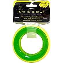 Hyper Pet Tennis Chewz Ring Interactive Dog Toy
