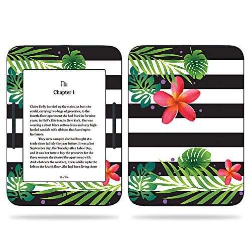 MightySkins Skin Compatible with Barnes & Noble Nook GlowLight 3 (2017) - Tropical Stripes | Protective, Durable, and Unique Vinyl Decal wrap Cover | Easy to Apply, Remove | Made in The USA