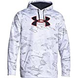 Under Armour Camo Big Logo Hoody Tall - Men's Ridge Reaper Camo Snow / Stealth Gray XL Tall