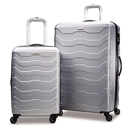 Samsonite Tread Lite Lightweight Hardside Set (20'/28'), Only at Amazon, Black