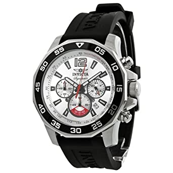 Invicta Signature II Nautical Chronograph Silver Dial Mens Watch 7430