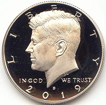 2019 S JFK Clad Half Dollar Proof at Amazon's Collectible Coins Store
