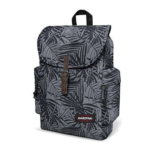 Austin 42 18 Black Denim Leaves L Grey Backpack Black cm Eastpak S7BxB