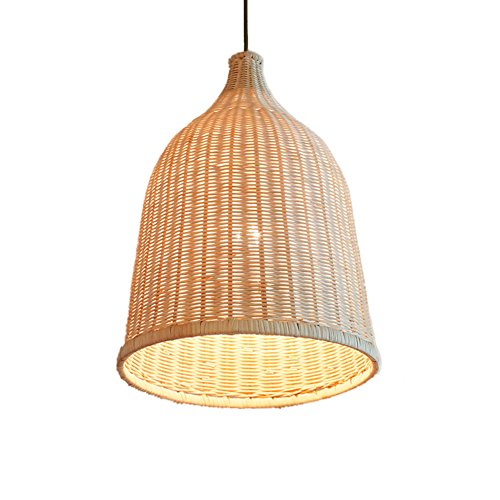 (Liveinu Pendant Lighting with Handmade Rattern, Adjustable Kitchen Lamp Pendant Ceiling Hanging Light for Kitchen Island, Restaurants, Hotels and Shops)