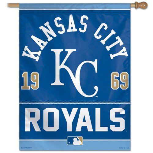 Kansas City Royals 2015 27 x 37-inch Vertical Flag - Established 1969