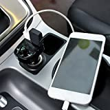 Bluetooth Mp3 Handsfree Car Charger Battery Voltage Detection FM Transmitter