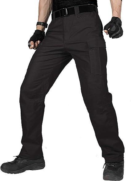 Free Soldier Pantalones De Trabajo Para Hombre Resistentes Al Agua Ajuste Relajado Tactico Militar Con Varios Bolsillos Amazon Com Mx Deportes Y Aire Libre
