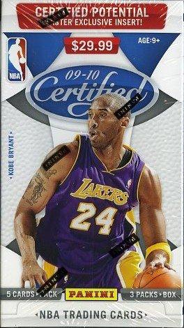 UPC 613297724575, 2009/10 Panini Certified NBA Basketball Factory Sealed Retail Box plus Autograph or Game Used Memorabilia