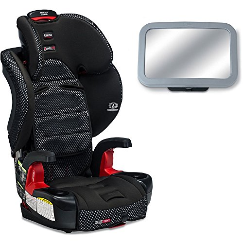 Britax - Frontier G1.1 ClickTight Harness-2-Booster Cool Flow Collection Car Seat with Back Seat Mirror - Gray