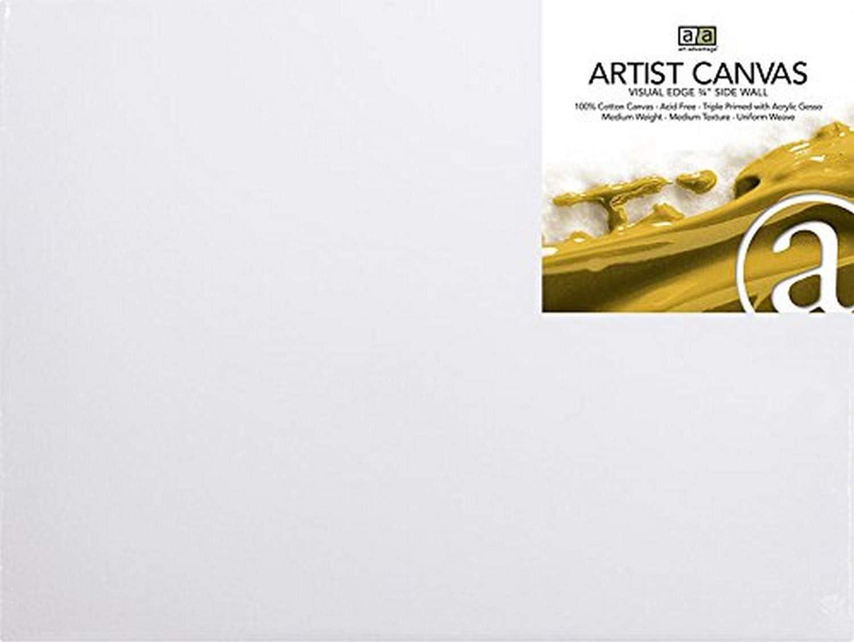 Art Advantage 5-Inch by 7-Inch Artist Canvas