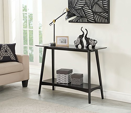 Convenience Concepts 501199BL Console Table, Black -