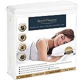Royal Elegance Waterproof BED BUG Box Spring Protector – Hypoallergenic – Lifetime Warranty – KING Size