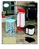Trenton Gifts Portable Expandable Trash Bag Holder | Black