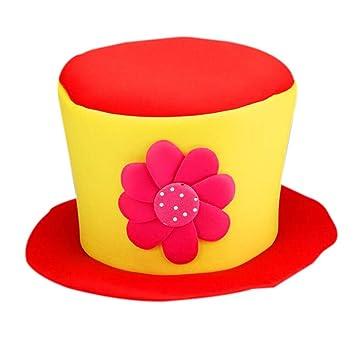 Clown Zylinderhut Partei Kostum Karneval Cap Clown Hut Clown Cap