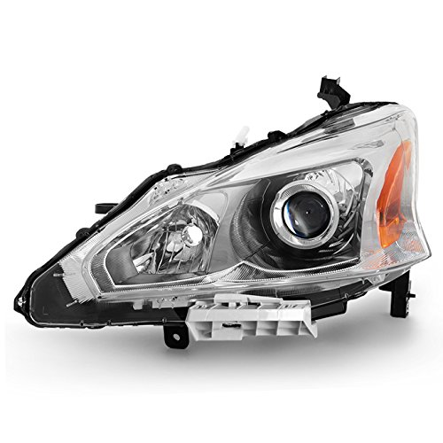 13-15 Altima 4 Doors Sedan Halogen Type Headlight Front Lamps Driver Left Side Direct - Front Driver Altima