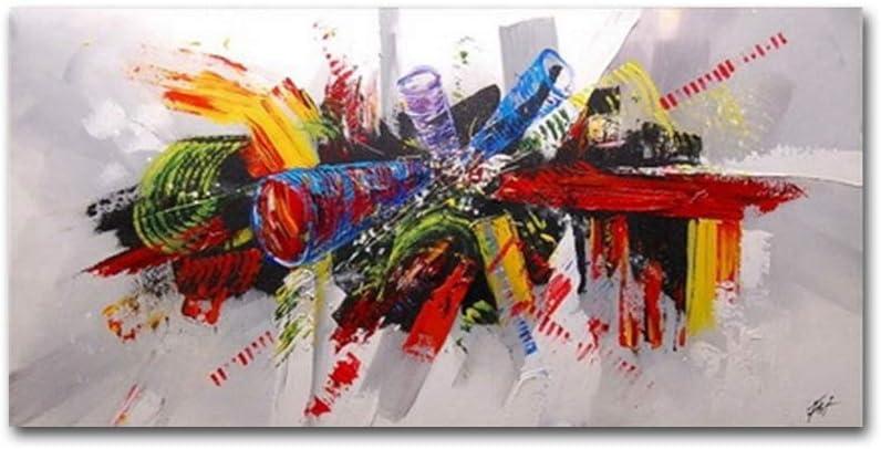 Peinture décorative sur toile