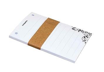 Notizzettel Notizblock Motiv Bärenschule