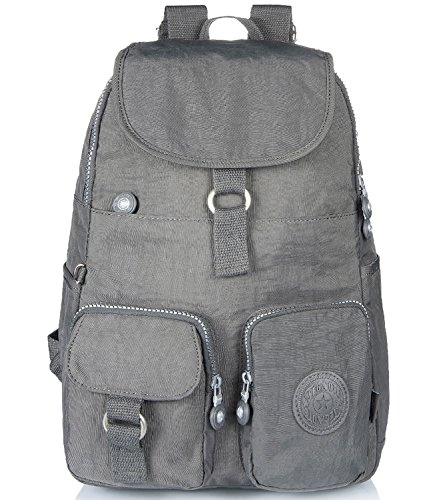Gray Mini Backpack - 7