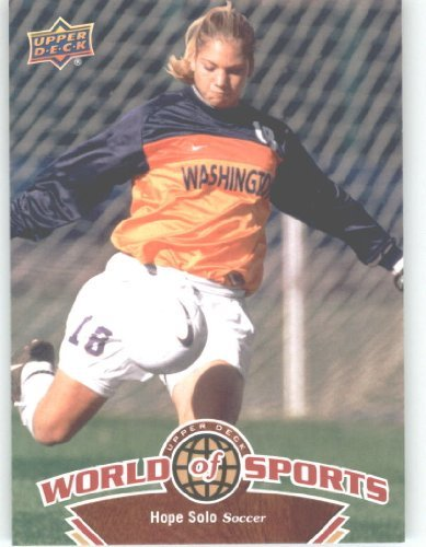 (2010 Upper Deck World of Sports #114 Hope Solo/Women's Soccer Cards/Huskies /)