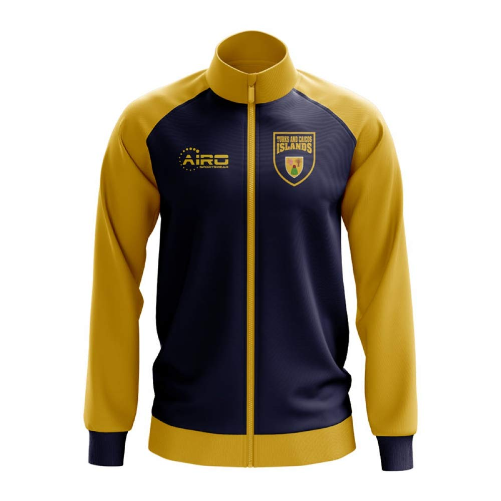 Airo Sportswear Turks and Caicos Islands Concept Football Track Jacket (schwarz)