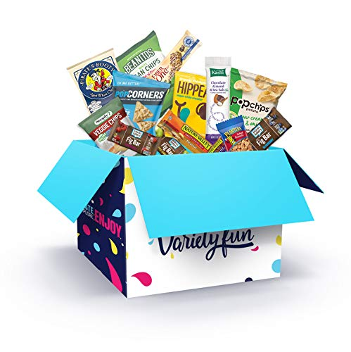 Variety Fun Healthy Office Snacks (100 Count) - Bulk Assortment - Over 10 Pounds of Chips Cookies & Candy (Office Snacks 100 Count) by Custom Varietea (Image #5)