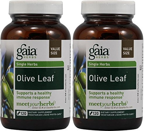 Gaia Herbs Olive Leaf, 120 Liquid Phyto-Capsules (120 x ()