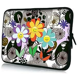 "Flowers Pattern 7""/10""/13"" Laptop Sleeve Case for MacBook Air Pro/Sony/Google Nexus/Ipad Mini/Galaxy Tab2 18056 , 7 inch"
