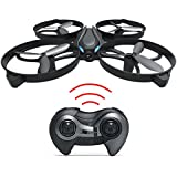 Haktoys HAK902-IV Mini RC 7.5 Drone with Strong Frame 2.4GHz 4 Channel 3D Flip/Roll LED Rechargeable Quadcopter Helicopter 6-Axis Gyroscope and Speed Modes   Great Present for Beginners, Kids, Adults