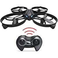 Haktoys HAK902-IV Mini R/C 7.5 Drone with Frame 2.4GHz 4 Channel 3D Flip/Roll LED Quadcopter with 6-Axis Gyroscope & Speed Modes | FAA Registration NOT Required | Great for Beginners, Kids & Adults