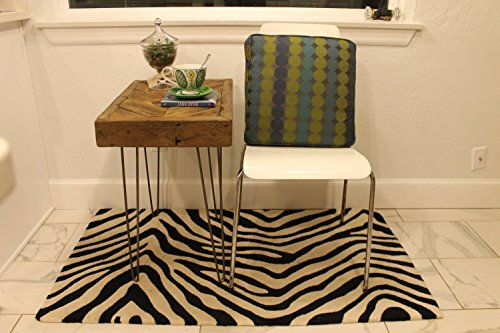 "Chevron Reclaimed Wood Side Table on Hairpin Legs ""The Catherine"" - Made to Order"