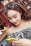 Generic Japan and South Korea Sen women girls lady retro dots hair band Girls Zhao Wei restaurant with geometric models simple Beautiful hair bands face headdress