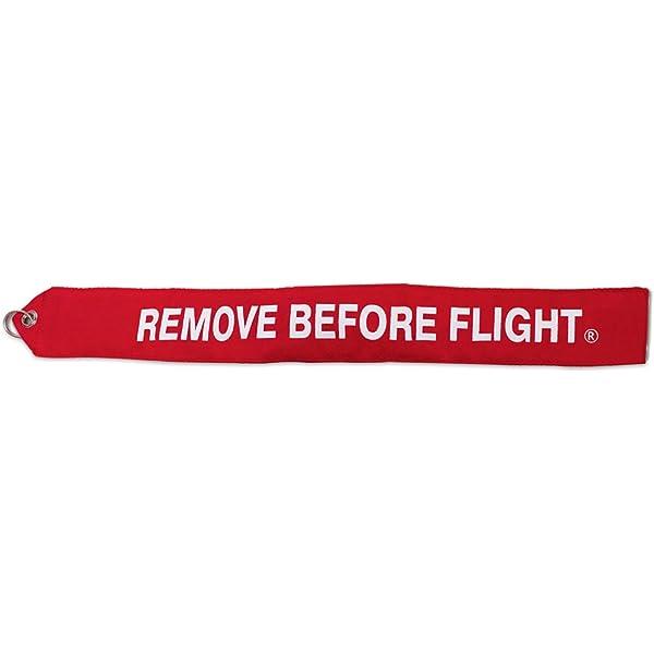 F-117 Nighthawk Remove Before Flight ® Keychain Streamer! Tag