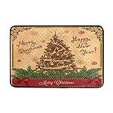 Best Happy Hours Shoe Trees - Vintage Christmas Tree Outdoor Door Mats Shoes Scraper Review