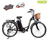"Best Electric Bicycles - NAKTO 26"" Adult Electric Bicycle for Women Review"
