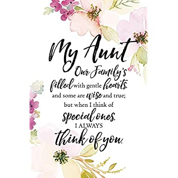 Amazon.com: Mother's Day Gift I Love My Aunt Poem Keepsake
