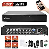 Westshine 16CH 1080P AHD/TVI/CVI/Analog/IP Hybrid DVR, H.264 HD 1920x1080P CCTV Digital Video Recorder, Support Onvif, Motion Detection, Email Alert, Remote Access, P2P Cloud (NO HDD)