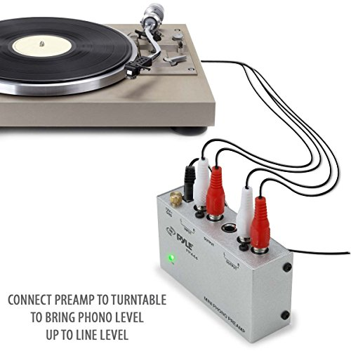 hook up turntable